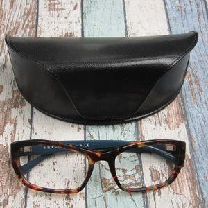 Prada VPR 18O NAG-101 Italy Eyeglasses/OLP147